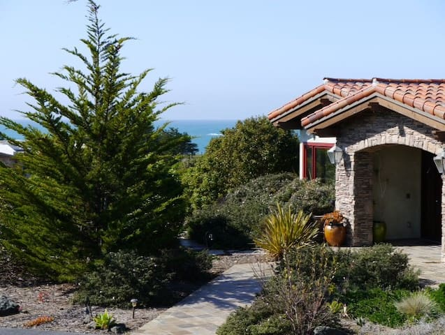 Tuscan Villa  in Cambria, CA