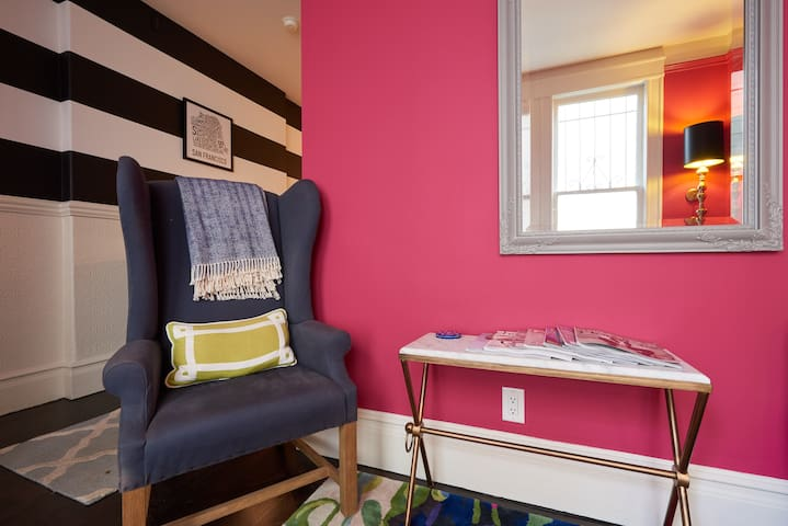 Elle Decor Featured Row House - Townhouses for Rent in San Francisco ...