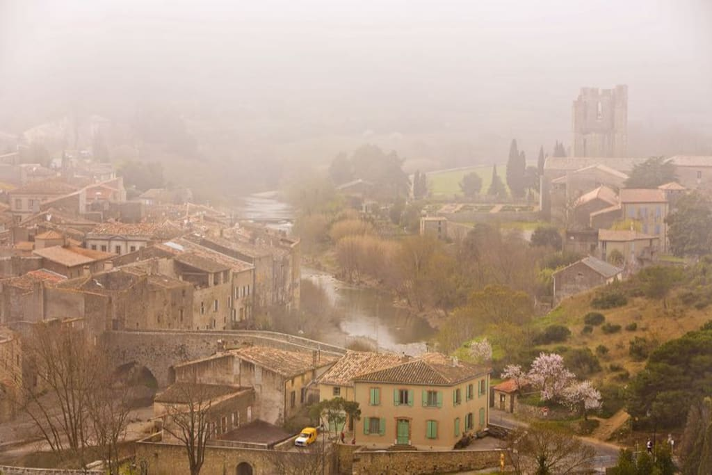 Lagrasse - officially one of the most beautiful villages in France