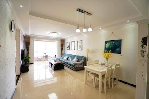 【宝塔山下三居室】暖气/空调/高层电梯房「西米公寓」