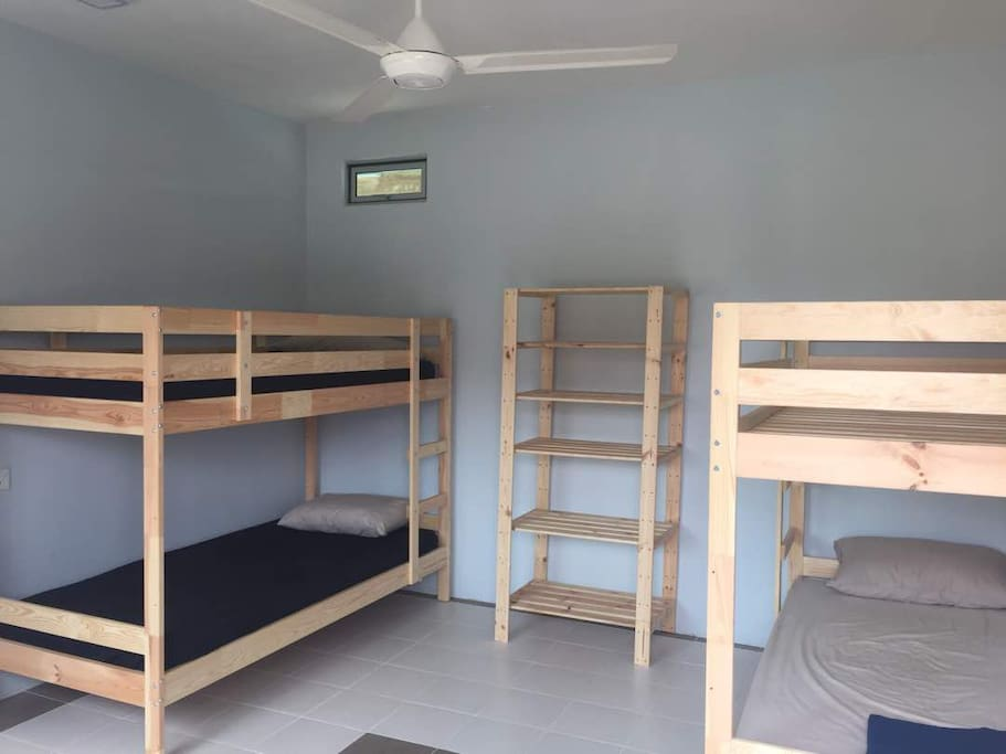 Dorm with 4 beds