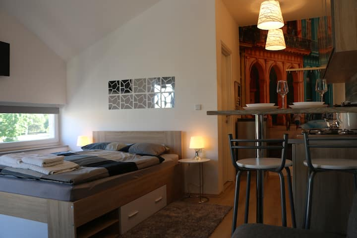 Stylish Apartment Luma2***center of Osijek+parking
