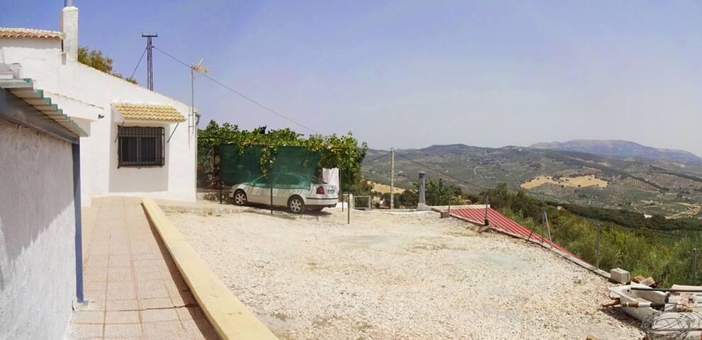 Casa de campo con piscina y vistas - Montefrío - Hus