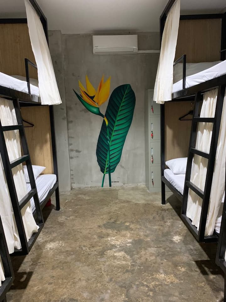 Room 5 · Happy All Female Bed w/Wifi+Aircon+Hot/Cold Shower