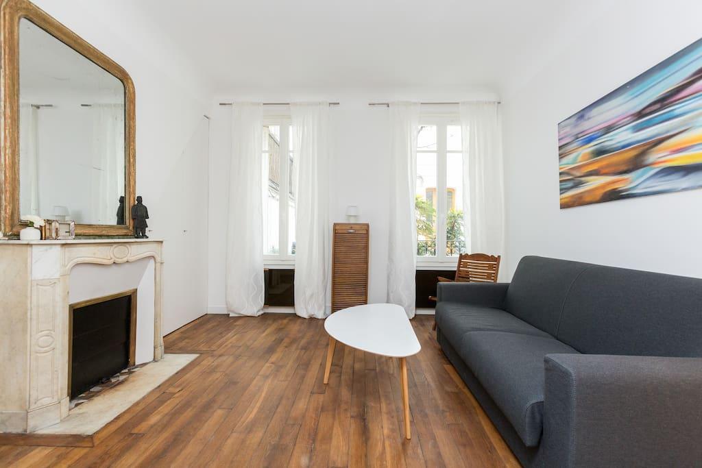 Charmant Studio Parisien Arche De Triomphe Appartements