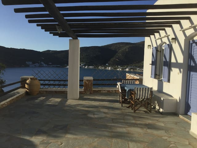 Seaview House for memorable holidays, Vathi Sifnos
