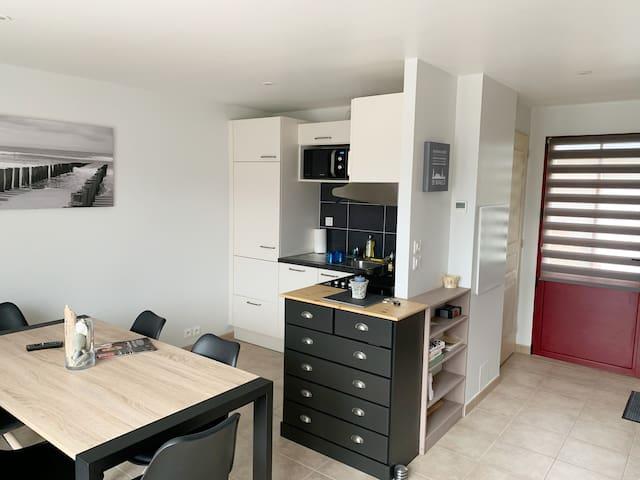 Cancale-Maison 45 m²-2 Chambres-5 personnes-WIFI
