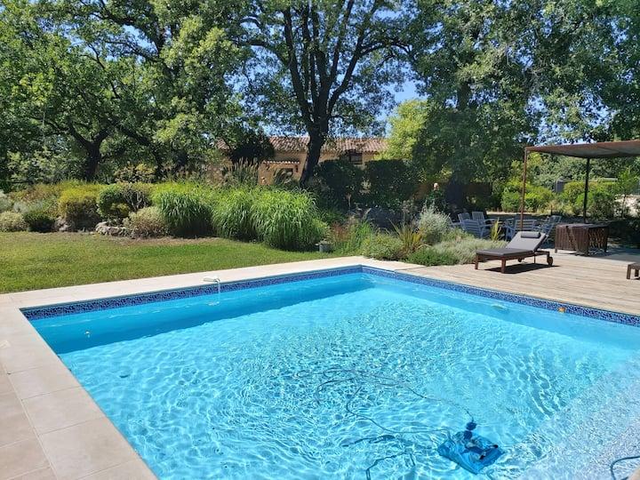Maison de vacances piscine priv. cigales de Pagnol