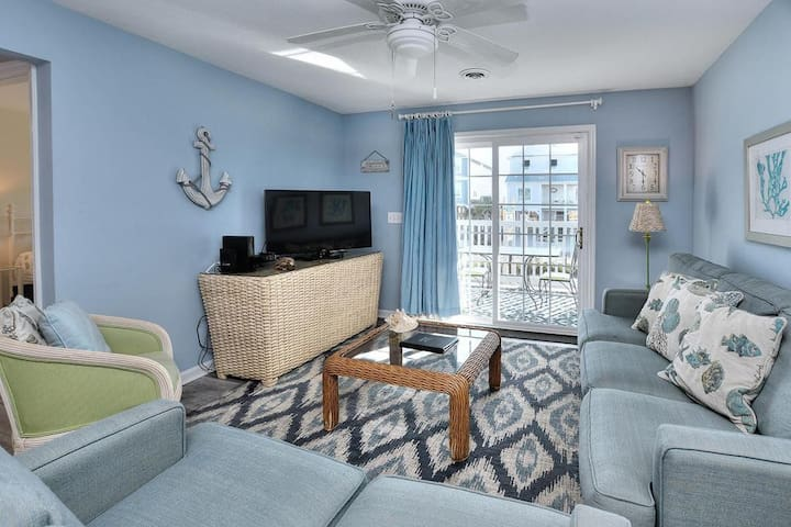 West Long Beach Villa 103-2nd row to Beach-2 Bdrm/2 Bath-Make Lifetime