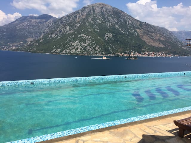 Perast and Boka Bay Sea View - Kostanjica