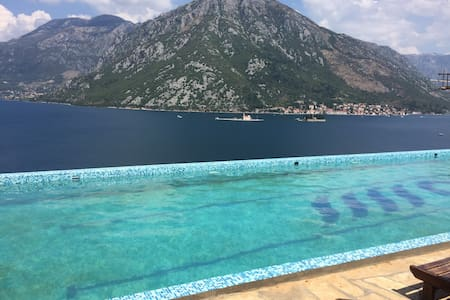 Perast and Boka Bay Sea View - Kostanjica - Apartment