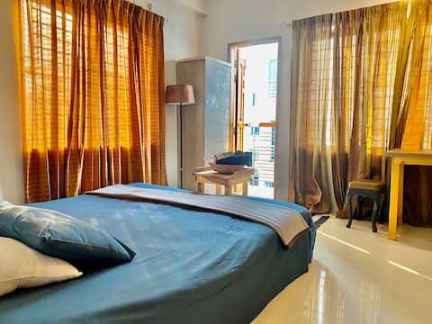 ✽✽ En-suite Room+Safe+Airport+Wifi near Gulshan