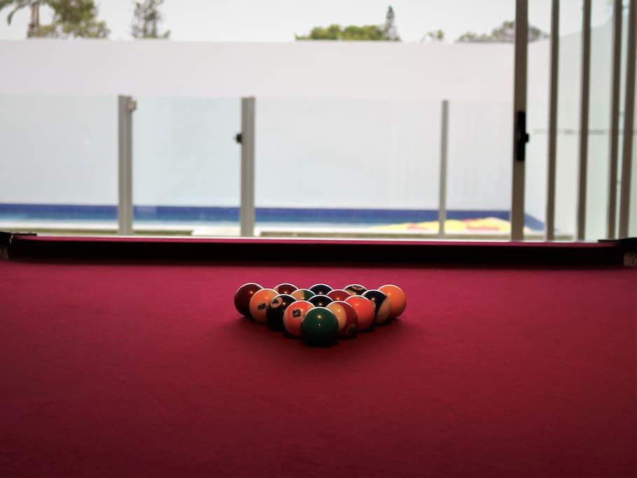 Pool by the pool anyone?