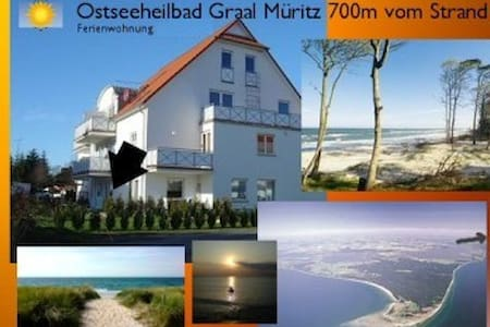 Ferienwohnung 650m vom Strand in Graal Müritz - Graal-Müritz - Apartament