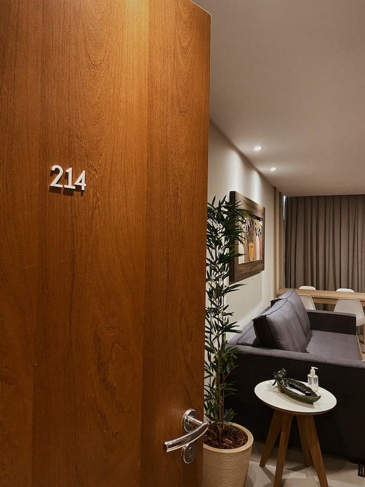 Flat 214 - Farol de Santa Marta Apart Hotel