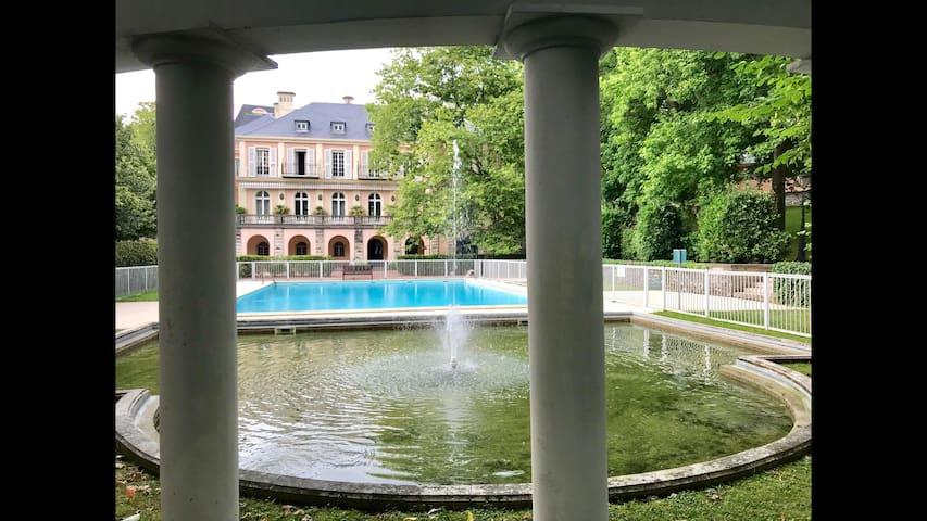 Appart 4 pers à Biarritz avec 2 piscines et tennis