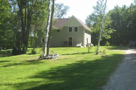 Rustic Private Cottage in Green Mountains of VT - Pownal - Ház