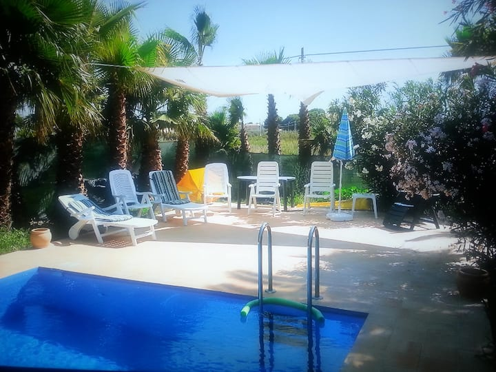 Apartment with one bedroom in Marsala, with shared pool, enclosed garden and WiFi - 250 m from the beach