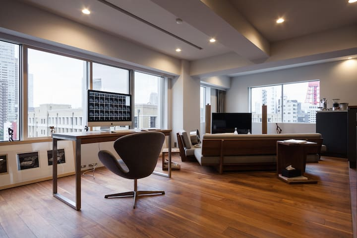 A refurbished studio in Roppongi - Minato-ku - Wohnung