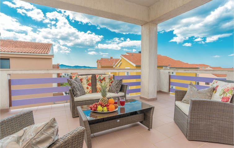 Holiday apartment with 1 bedroom on 56m² in Zadar