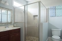 Master Bathroom - Large Shower with HOT water