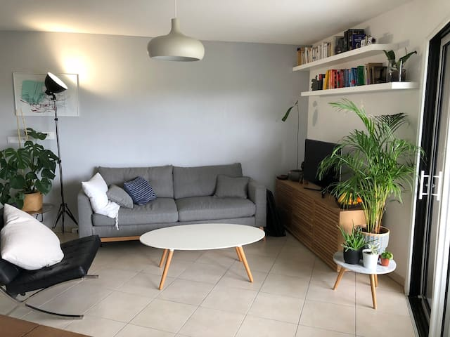 Modern Riverside Apartment