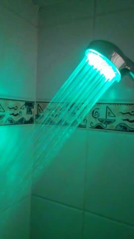 douche à LED