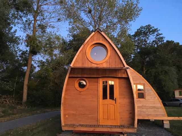 Gite- Micromaison-Tiny House en Auvergne 63440