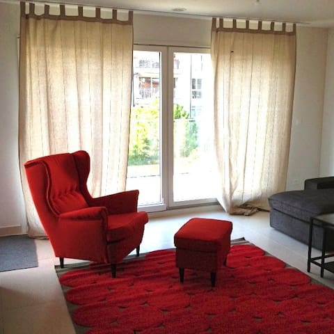 Appartement contemporain au centre de Morges - Morges - Lägenhet