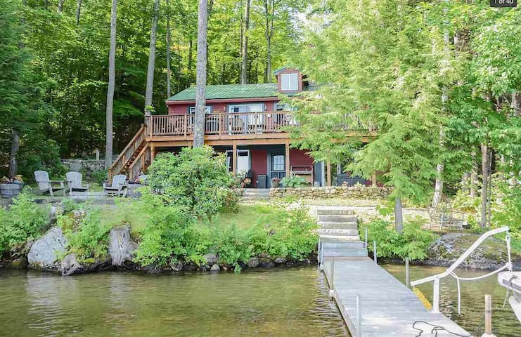 Beautiful Lake Front Cabin on Little Squam Lake