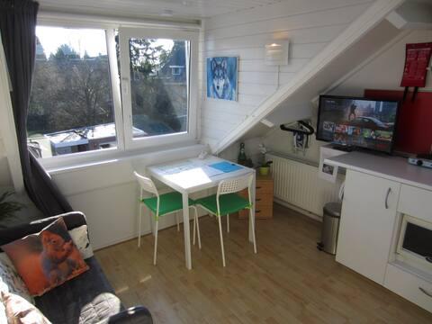 Et-værelses studio i nærheden af Enschede centrum