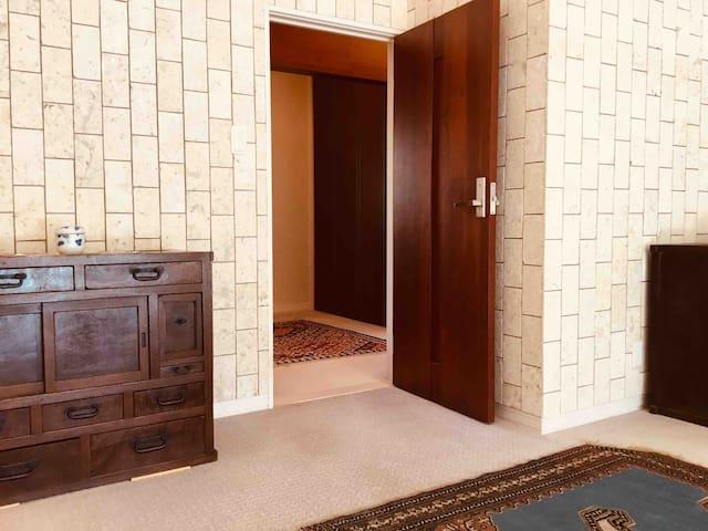 Entrance of Single Room