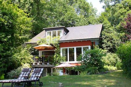 Bodensee-Ferienwohnung mit Privatstrand /Seezugang - Öhningen - 公寓