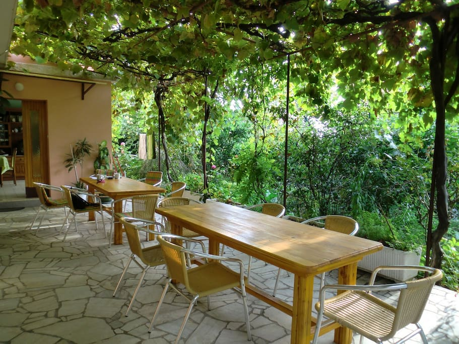 Bed & Breakfast Lidija-Rab. die Terrasse