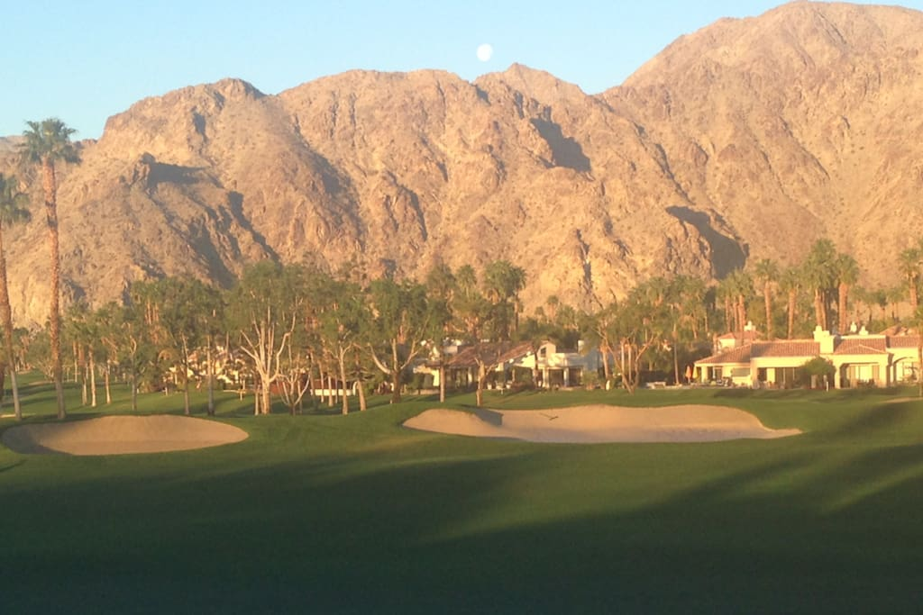 PGA West-Arnold Palmer-9th Fairway from Front Patio