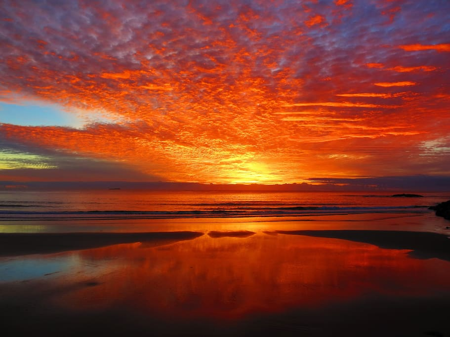 Pacific Ocean Sunrise, what a way to start the day!