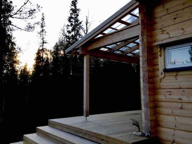Villa Kaltio: cabin with traditional Finnish sauna