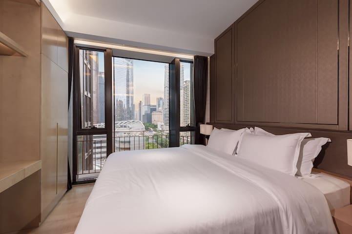 C3 Business Room 5 stars Apartment - Tian He - Guangzhou