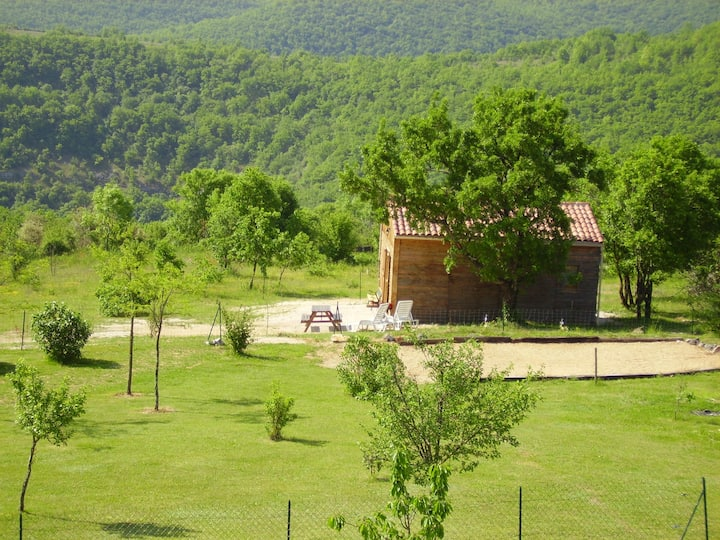 Maisonnette climatisée à  Rocamadour
