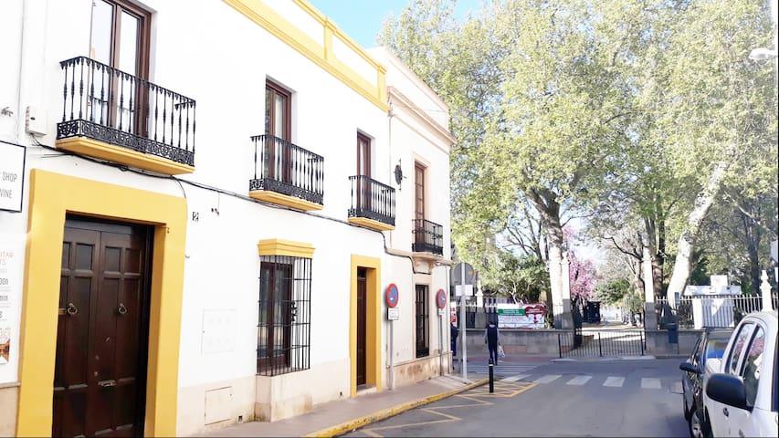 Centro Histórico Ronda junto al Mirador del Tajo