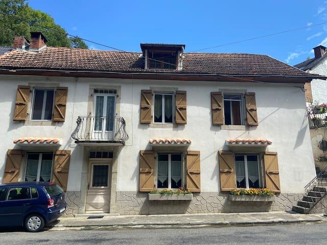 Maison de montagne chambre privée