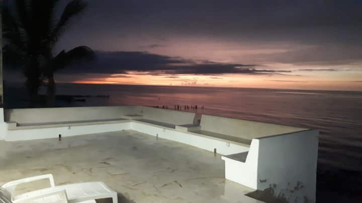 Mi casita de chelem frente al mar