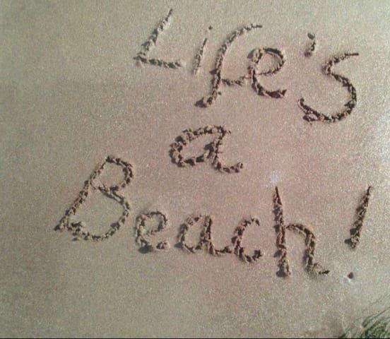 Beach House in Paradise