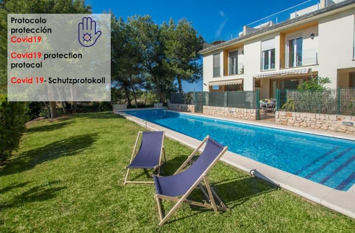 Havana - casa con piscina en Playa de Alcudia