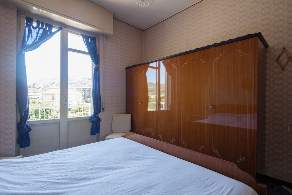 Double room with wardrobe