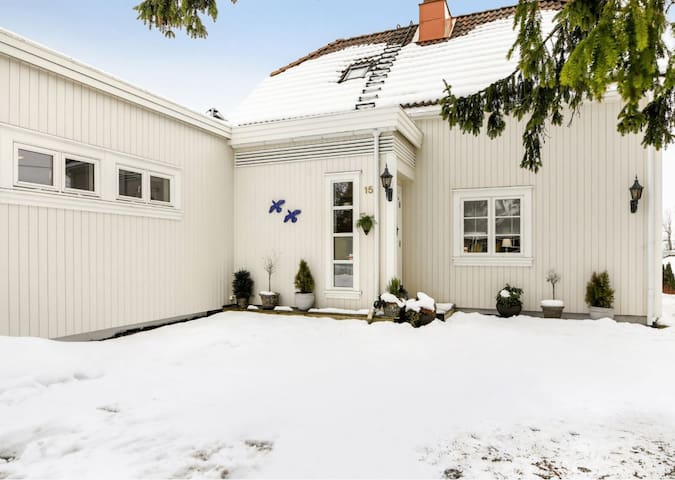 25min by train from Oslo, 200m from train station