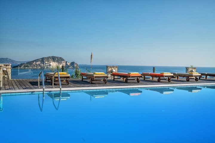 5 bedroom luxury villa with pool close to the sea - Zakinthos - 別荘