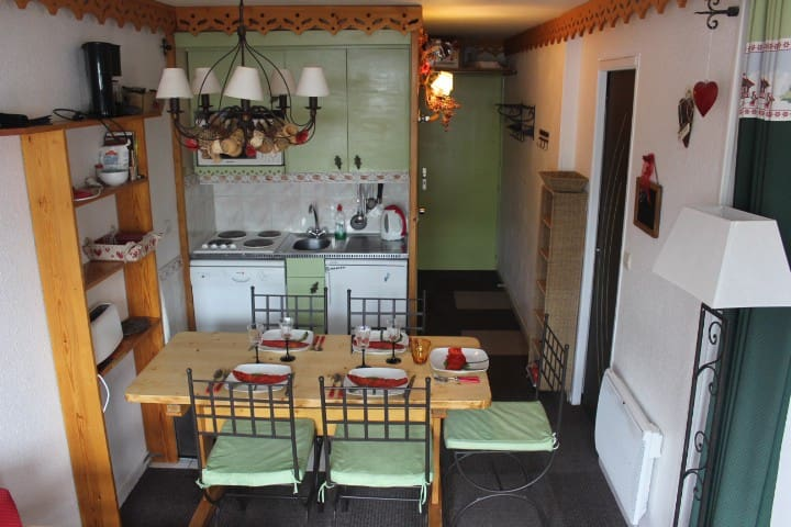 Val Thorens apartment very calm, 5 personnes