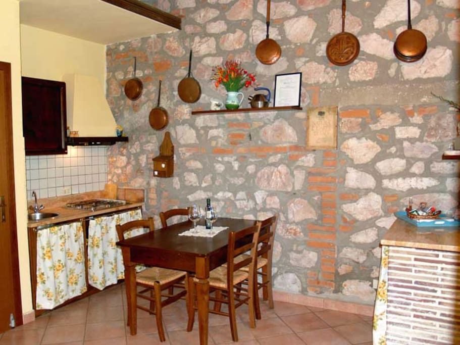 Agriturist Prile - Kitchen