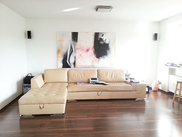 Beauiful modern apartment near the sea - Liepāja - Apartemen